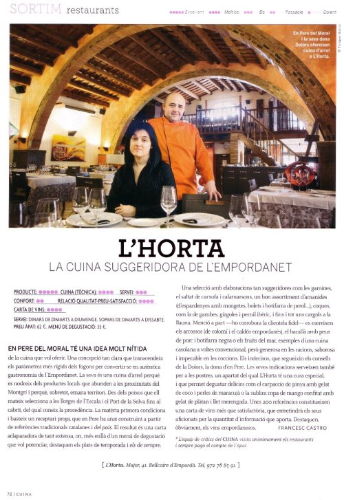 Revista Cuïnes